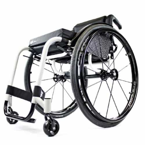 RGK Chrome High Performance ADL rolstoel