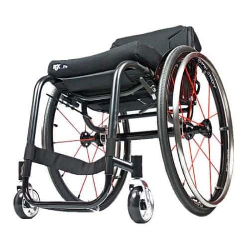 RGK Hi Lite High Performance ADL rolstoel - open, minimaal frame design