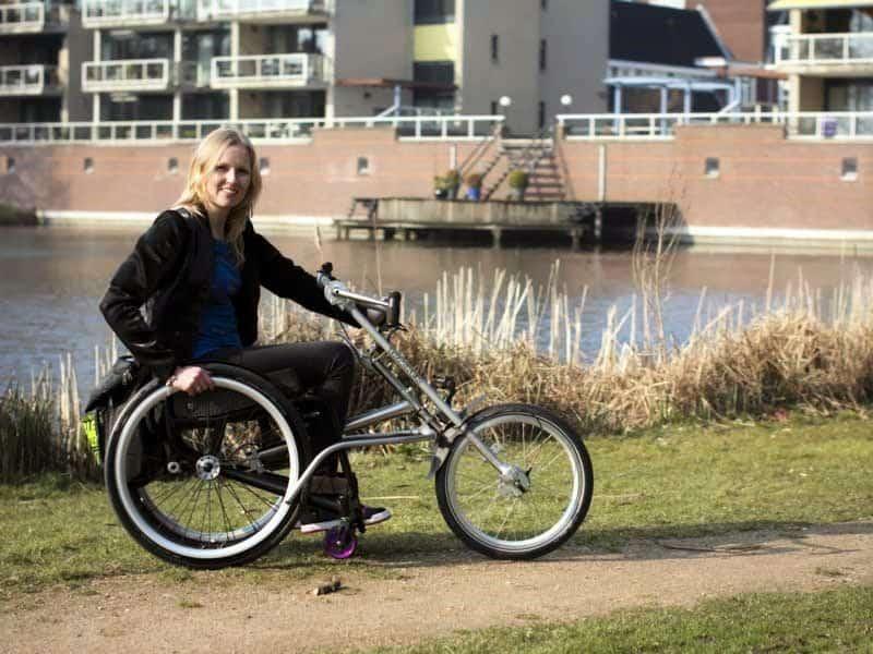 Tracker aankoppelbare handbikes