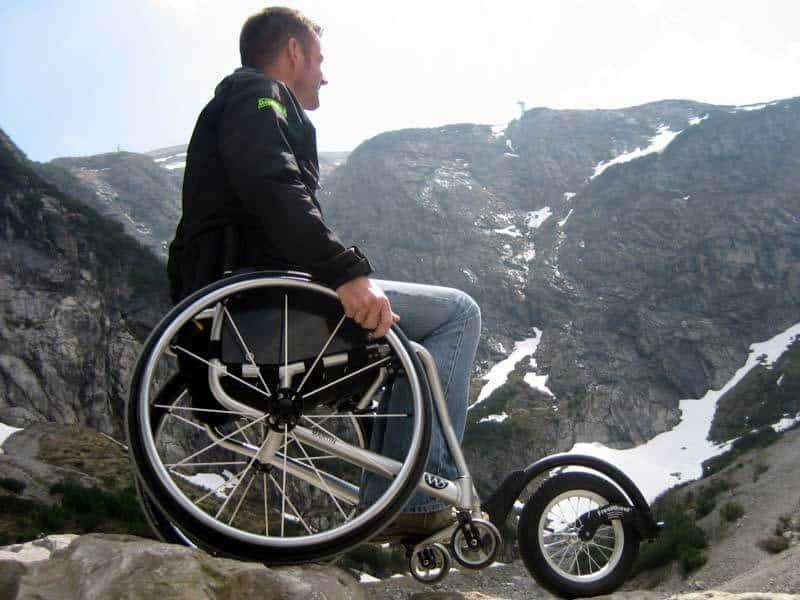 Martin op berg