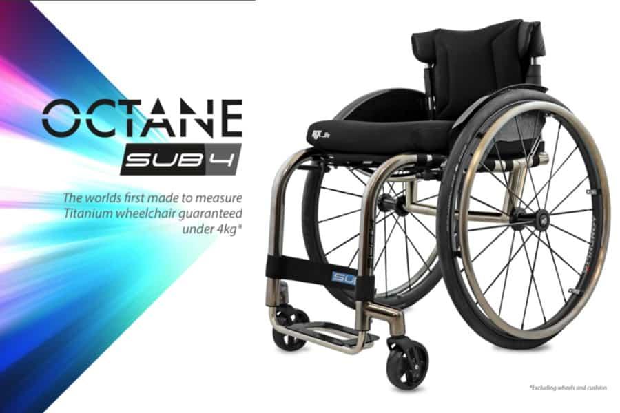 Nieuw Octane Sub4 ADL rolstoel