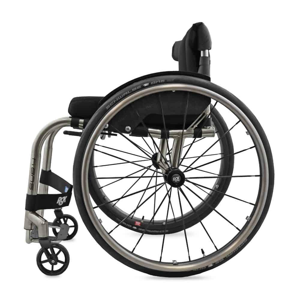 RGK Octane Sub4 adl rolstoel zijkant