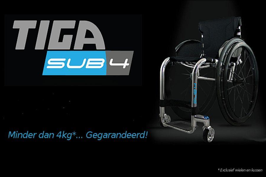 Introductie RGK Tiga Sub4 ADL rolstoel