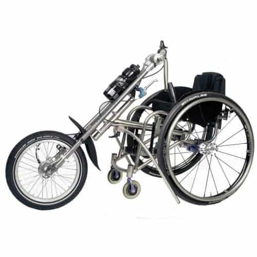 Tracker 16 kardan kid aankoppelbare handbike