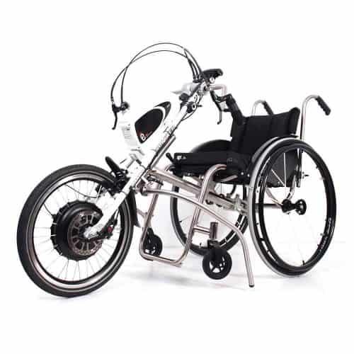 Tracker 20 e-kardan aankoppelbare handbike