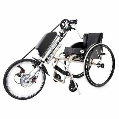 Tracker 20-e-powerbike aankoppelbare handbike