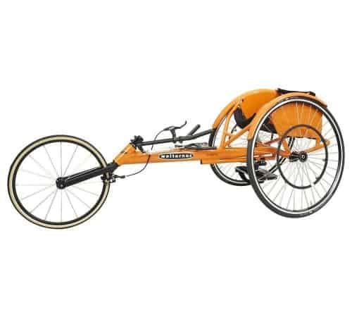 Wolturnus Amasis wheeler rolstoel oranje