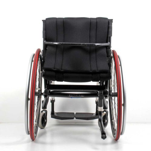 Wolturnus Dalton High Performance ADl rolstoel achter aanzicht