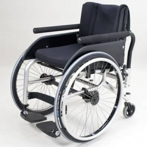 """Wolturnus Dalton F """"omgekeerde"""" ADL rolstoel"""